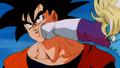 Goku is really mad