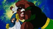 Mighty Mask sconfigge Kila con un pugno