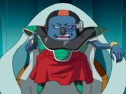 Sorbet on his throne dragon-ball-super ep 18