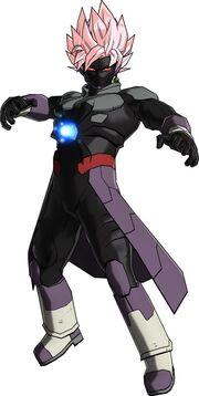 Amuzu Hit Goku Black