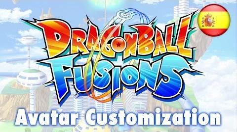Dragon Ball Fusions - 3DS - Avatar Customization (Spanish)