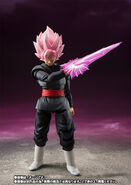 Goku Black Rose Espada Figuarts