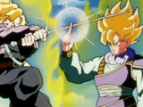 Son Goku vs. Trunks del Futuro Alternativo