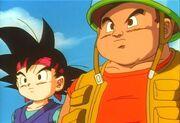Goku Jr. e Pack