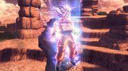Goku Perfección Egoista XV2 en gameplay