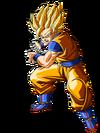 Goku SSJ2 Artwork