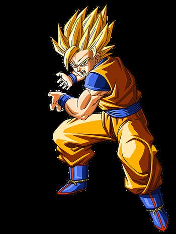 Super saiyan 2 dragon ball wiki fandom powered by wikia - Sangoku super sayen 2 ...