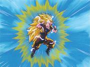 Goku Super Sayan 3 Vs Super Majin Bu