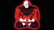 Jiren meditando