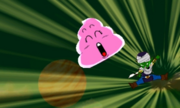 DB Fusions Namekian Demon King Moolin Poop Toss (Special Move - Pic 3)
