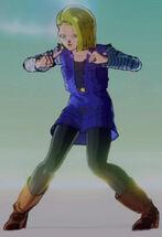 Dragon Ball Xenoverse - 18 Boogie Parapara