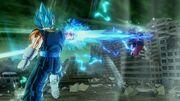 Spirit Stab SSBlue Vegito Xenoverse 2
