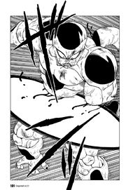 Frieza hoist by his own petard