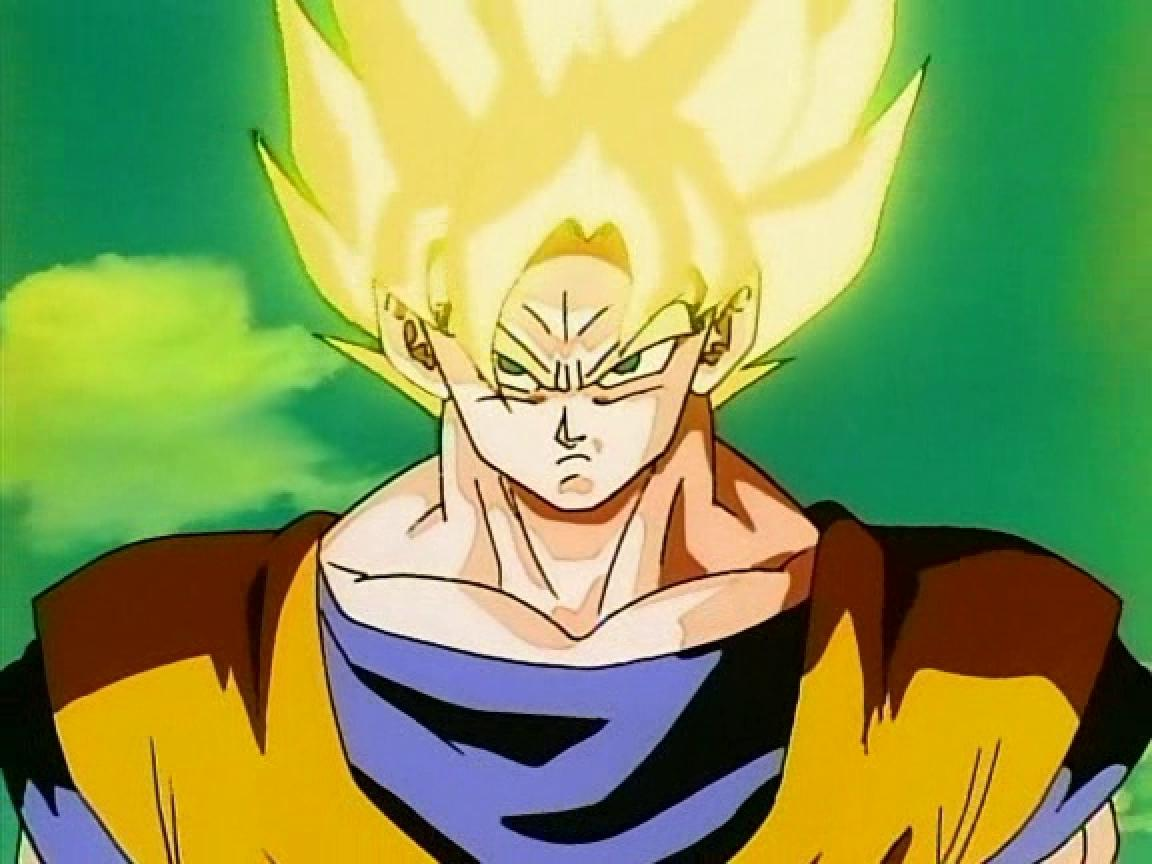 Image - Goku Transforms To Super Saiyan.JPG | Dragon Ball ...