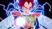 Vegeta charging beam