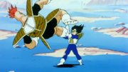 Vegeta Swings Recoome