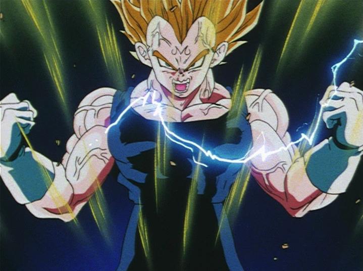 User Blogarea95000super Saiyan 3 Goku Vsmajin Vegeta Dragon