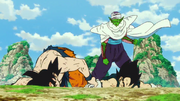 Son Goku e Vegeta da Piccolo - DBSB