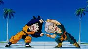 Son Goten e Trunks provano la fusione