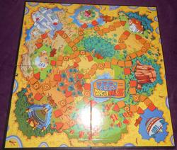 The Heroic Dragon Ball Z Adventure Game board