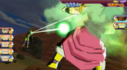 Andanada de rayo mortal en Dragon Ball Heroes