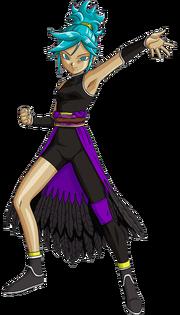 Forte (Super Saiyan Blue) (Artwork)