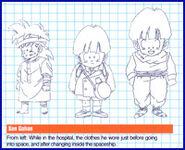 Gohan bocetos1