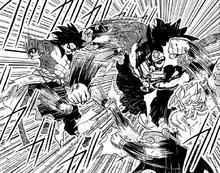 Goku Xeno vs. Broly Dark vs. Mira SDBHMRD