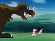 Goku et Kuririn