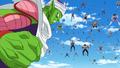 Piccolo attacks Frieza's 1000 soldiers army in DBSuper EP21 24