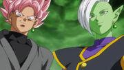 Black Goku e Zamasu del futuro