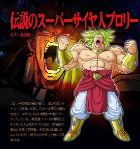 Broly Legendary Tenkaichi 3