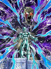 Dokkan Battle Fusion with the Big Gete Star Metal Cooler card (Metal Cooler Core controlled Metal Cooler UR)