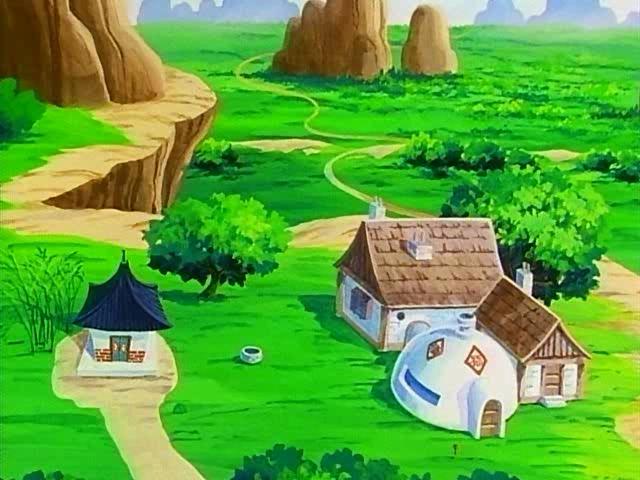 '' Goku's House ''▐ 孫悟飯の家 ▐ Dragon Ball Minecraft Map