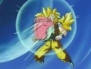 Kid Boo vs Goku