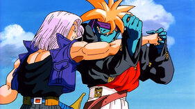 Trunks contro Gokua