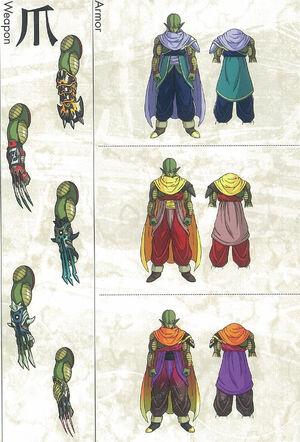 Dragon Ball Online - Classe de Guerriers des Ténèbres