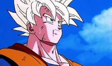 Goku abandonne