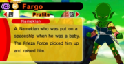 DB Fusions Namekian Frieza Soldier Fargo (Character Profile)