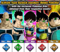 Dokkan Battle Special Event - Battle-Smart Brawlers! Team Bardock! (Daily Events Schedule Banner)