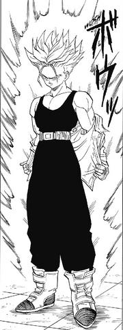 Trunks du Futur - Super Saiyan (Manga) 04