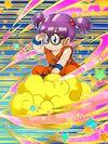 Dokkan Battle Flying High in the Clouds Arale Norimaki Goku Cosplay card