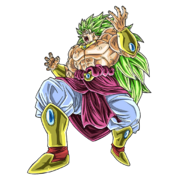 Hakai-Ô Broly (Super Saiyan 3) (Artwork)