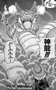 Shenron de energía negativa en Dragon Ball Heroes victory mission