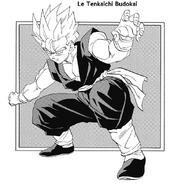 Son Gohan - Super Saiyajin à pleine puissance (Manga) 02