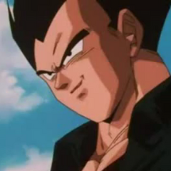 Vegeta in Dragon Ball GT.