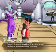 Xenoverse 2 - Cooler describes his Armored Squadron