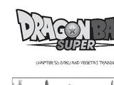 Goku and Vegeta's Training