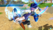 DBXV2 Future Warrior (1.07.00) Savage Strike (Super Skill)