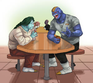 DBZ A Chat Over Space Soda by Rhandi Mask